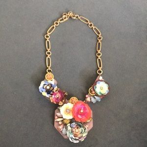 Jcrew Flower Brûlée Necklace